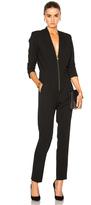 Michelle Mason Zipper Jumpsuit
