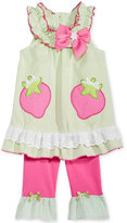 Nannette 2-Pc. Strawberries Tunic & Capri Leggings Set, Baby Girls (0-24 months)