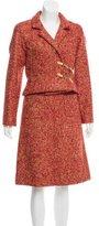 Chanel Wool Bouclé Skirt Suit