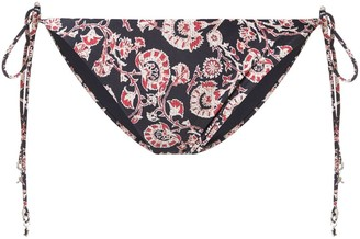 The Upside floral bikini bottoms