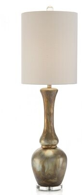 John-Richard Collection 40'' Gold Luster Buffet Lamp