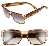 Tom Ford Women's 'Mason' 58Mm Sunglasses - Dark Brown/ Gradient Smoke