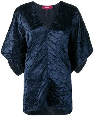 Sies Marjan May satin crinkled blouse