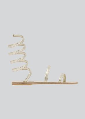 Ancient Greek Sandals Ofis Ankle-Wrap Flat Sandals
