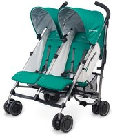 UPPAbaby Infant G-Link Ella Aluminum Frame Reclining Side By Side Umbrella Stroller