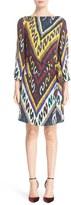 Etro Women's Ikat Print Side Knot Dress