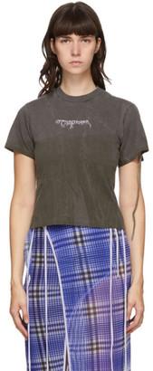 Ottolinger Black Organic Fitted T-Shirt