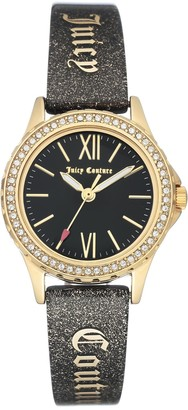 Juicy Couture Women's Black Shimmer Watch