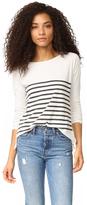 Sundry Stripes Long Sleeve Tee