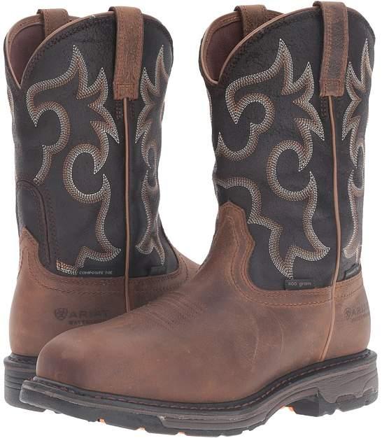 Ariat Workhog Wide Square CT WP Insulated Men's Work Boots