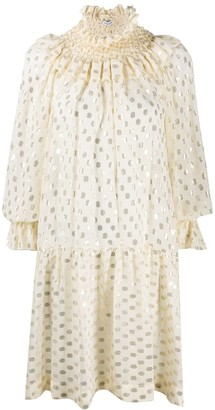 P.A.R.O.S.H. Polka Dot Shirt Dress