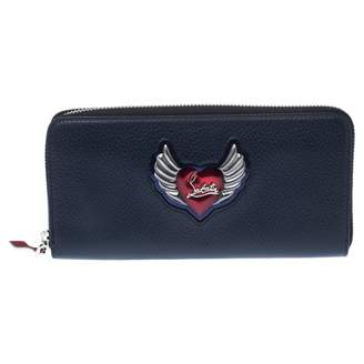 Christian Louboutin Navy Leather Wallets