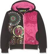 Desigual Girl's Sweat_Dragon Sweatshirt,(Manufacturer size: 11/12)