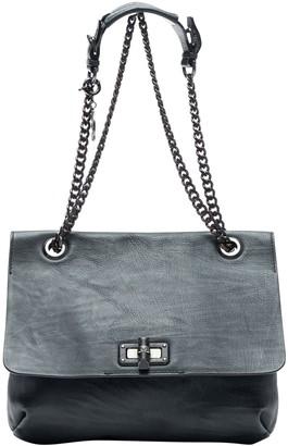 Lanvin Blue Leather Handbags
