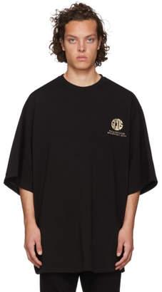 GCDS Black Extra Palazzo T-Shirt