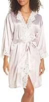 Lauren Ralph Lauren Women's Lace & Satin Robe