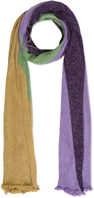 M Missoni Color Block Viscose Stole