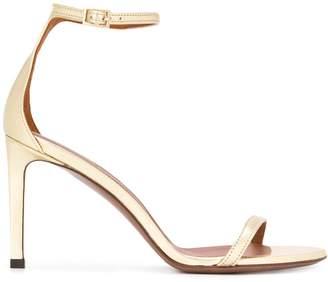 L'Autre Chose slim-strap metallic sandals