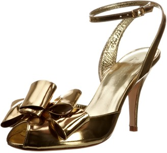 Freya Rose Women's Juliet Leather Gold Special Occasion 3 UK