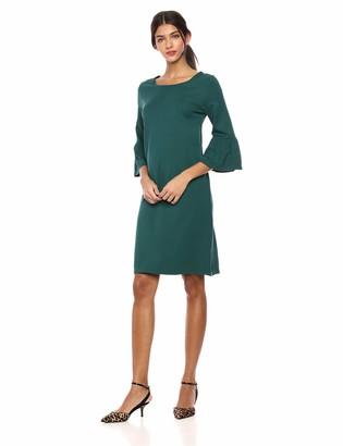 Lark & Ro Women's Bell Sleeve Knit Dress