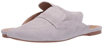 Steve Madden Flavor Flat Mule (Black Suede) Women's Shoes