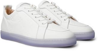 Christian Louboutin Rantulow Orlato Debossed Leather Sneakers