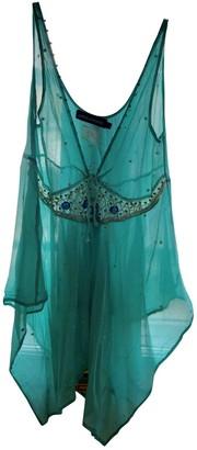 Antik Batik Turquoise Top for Women
