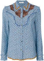 Coach embroidered shirt - women - Silk/Cotton/Nylon - 6