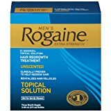 Rogaine Men's Hair Regrowth Treatment, Extra Strength - 3 Month Supply
