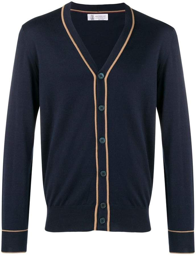 Brunello Cucinelli button V-neck cardigan