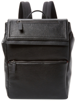 Salvatore Ferragamo Solid Leather Backpack
