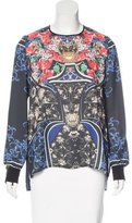 Clover Canyon Long Sleeve Patterned Blouse