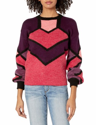 Desigual Women's Bahia Woman Flat Knitted Thick Gauge Pullover