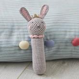 Albetta Crochet Princess Bunny Baby Rattle