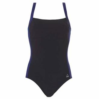Tweka Modern Stripe Chlorine Resistant Moulded Cup Swimsuit (14