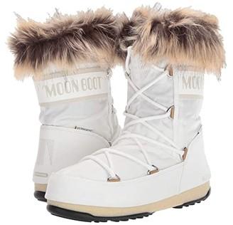Moon Boot r) Monaco Low WP 2 (Black) Women's Boots