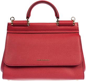 Dolce & Gabbana Front Logo Plaque Tote