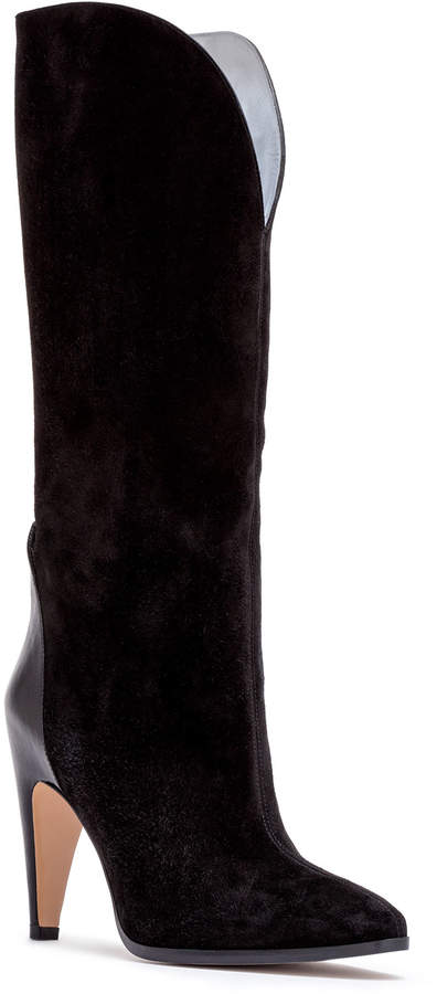 Givenchy Black 95 suede boots