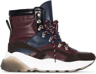 Stella McCartney Eclypse high top hiking sneakers