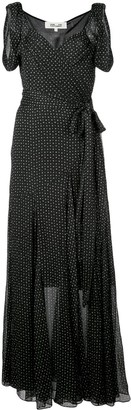 Diane von Furstenberg Belinda crinkled wrap dress