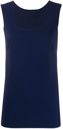 Patrizia Pepe Scoop Neck Vest