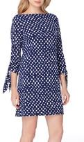Tahari Petite Women's Jersey Shift Dress