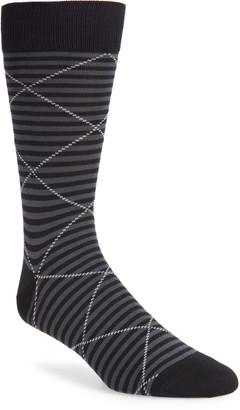 Nordstrom Ultrasoft Microstripe Dress Socks