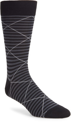 Nordstrom Ultrasoft Microstripe Dress Socks