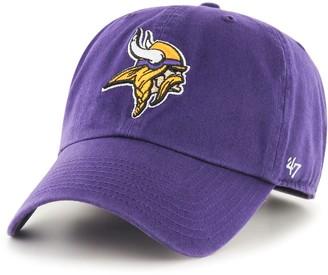 '47 Adult Minnesota Vikings Clean Up Adjustable Cap