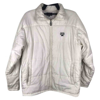 MCM Grey Polyester Jackets