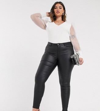 Junarose faux leather pants