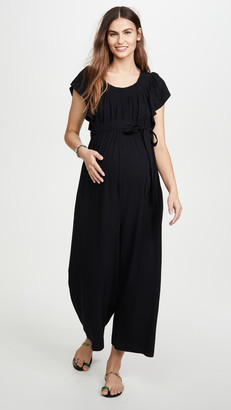 Ingrid & Isabel Wide Leg Maternity Jumpsuit