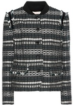 Tory Burch Norfolk sequinned wool-blend tweed jacket