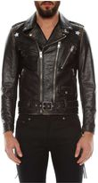 Saint Laurent 'etoile' Leather Motor Jacket